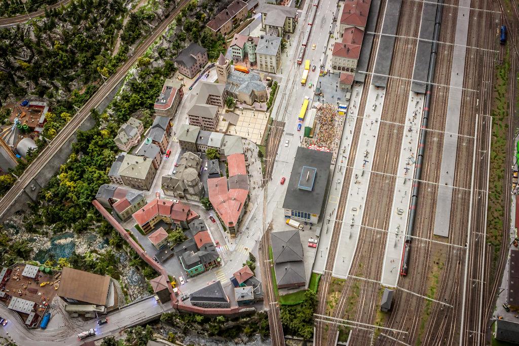 Miniature Wonderland - City from Above